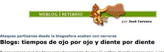 Cabcera Blogs Retiario