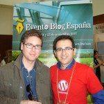 Con Biz Stone, co-creador de Twitter en Evento Blog España