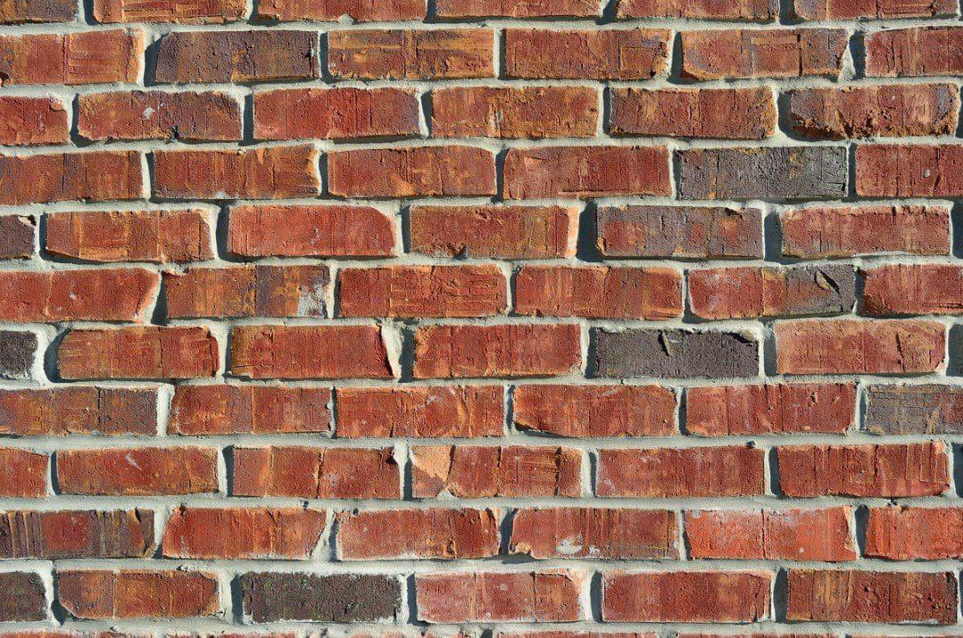 Foto de un muro de ladrillos