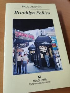 Portada de Brooklyn Follies, novela de Paul Auster