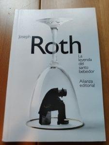 """Portada del libro """"La leyenda del santo bebedor"""" de Joseph Roth"""